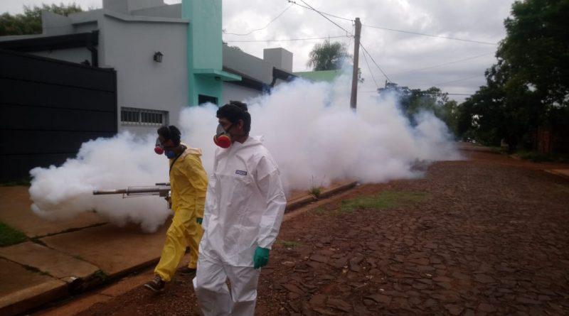 Realizan fumigaciones en barrios posadeños