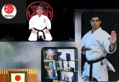 Entrenamiento virtual del Seleccionado Misionero de Karate Do